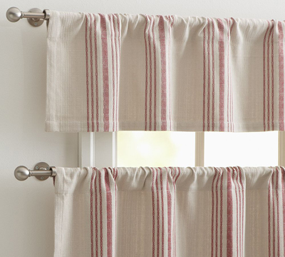 French Cafe Kitchen Curtains Valance - ShopWiki