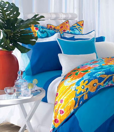 "Lauren Ralph Lauren ""Isle Capri"" Bedding Collection"