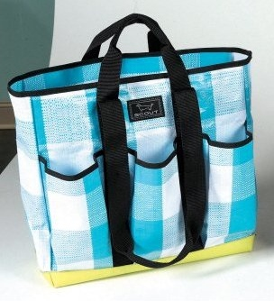 Bungalow Gingham Pocket Rocket Totes