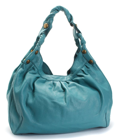 "Lucky Brand Jeans ""The Twist"" Large Leather Hobo"