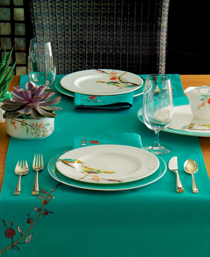 "Lenox ""Chirp"" Table Linens Collection"