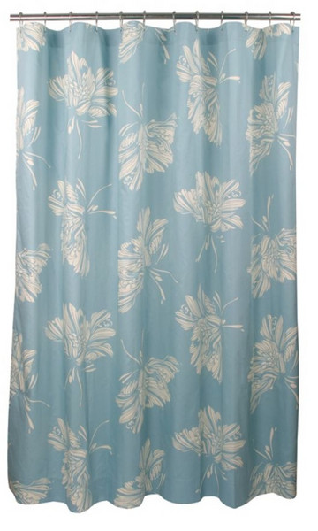 Blissliving Home Mallory Aqua Shower Curtain