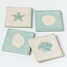 Home Studio Shoreline 4-pc. Coaster Set
