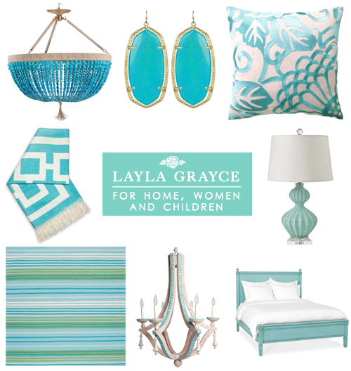 Giveaway! Turquoise at Layla Grayce