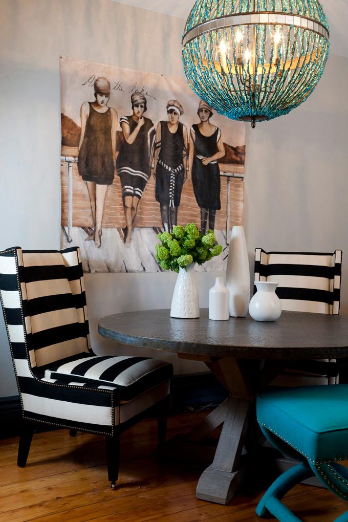 resim-duvar-panosu-avize-turkuaz-dekor