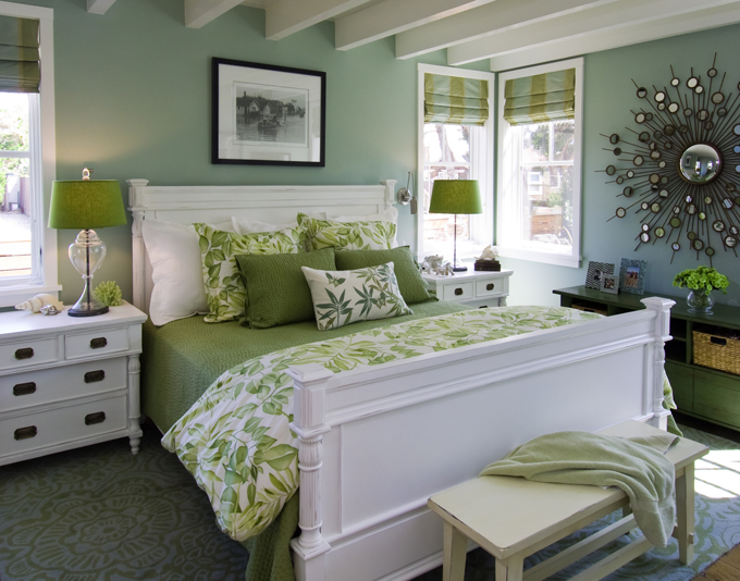 Bedroom paint color - Antique Jade by Benjamin Moore