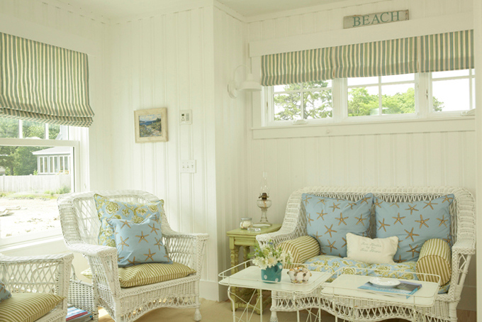 House of Turquoise:  Coastal Living Idea Cottage designed by Tracey Rapisardi