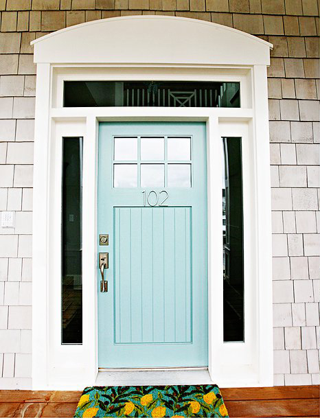 Benjamin Moore paint colors - Wythe Blue