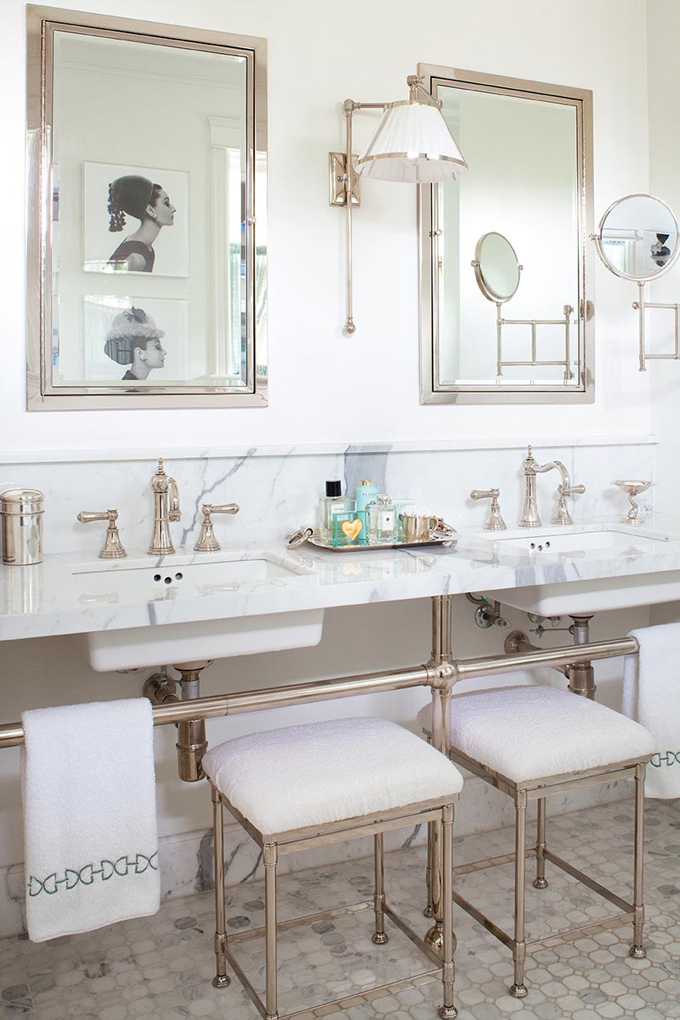 Audrey Hepburn Bathroom Accents