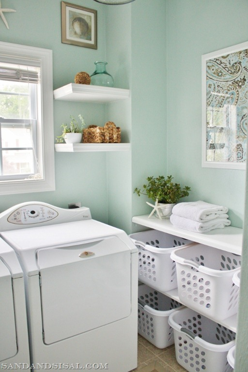 Sand & Sisal Laundry Room