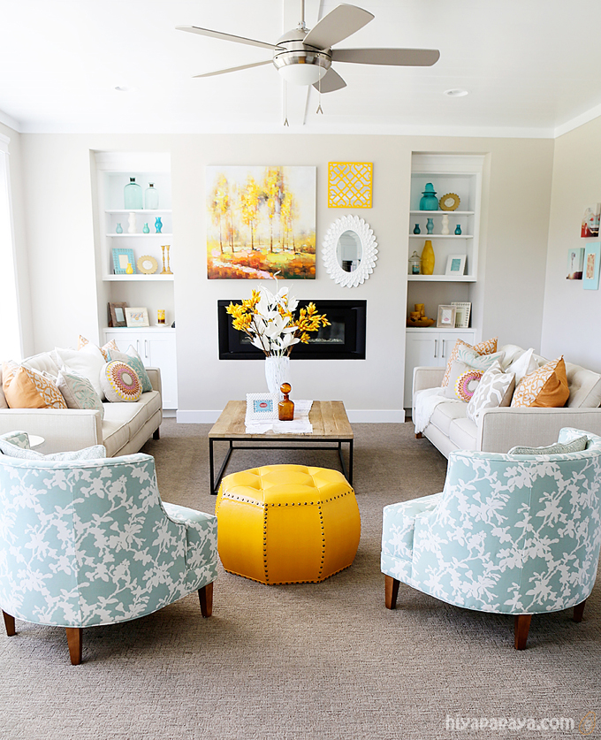 House of Turquoise:  Four Chairs Furniture and Hiya Papaya Photography