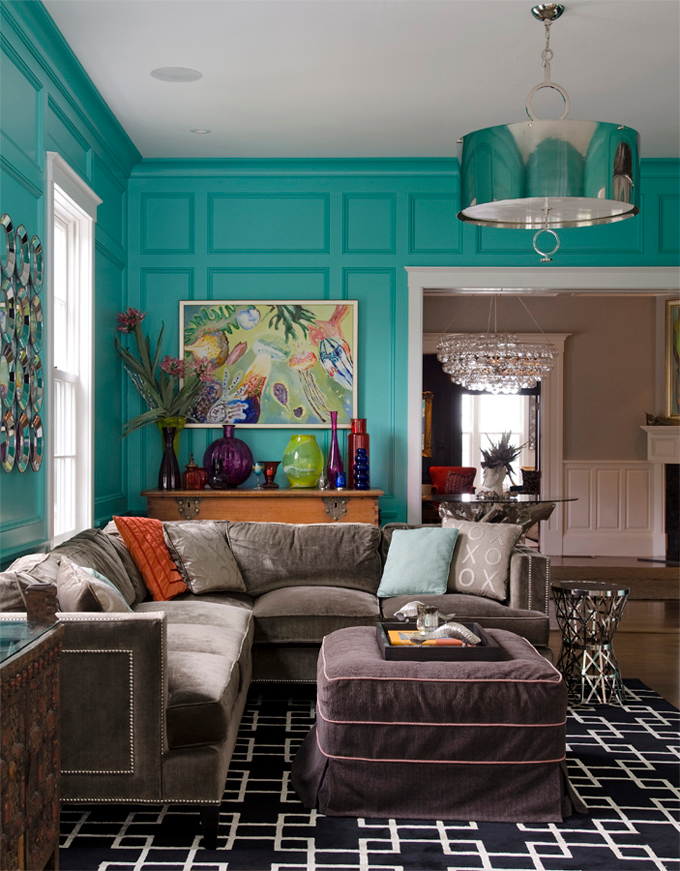 House of Turquoise:  Jamie Salomon Photography and Olson Lewis Architects