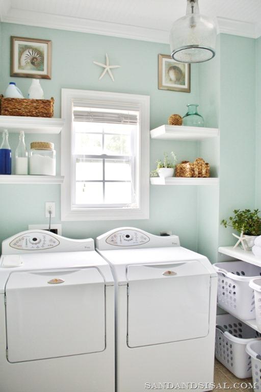 Sand & Sisal Laundry Room