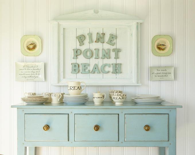 House of Turquoise: Coastal Living Idea Cottage designed by Tracey Rapisardi